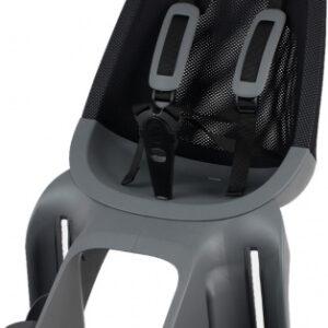 Qibbel achterzitje Air Q910 junior mesh zwart/grijs