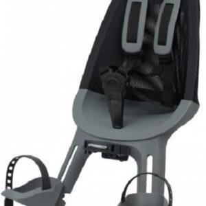 Qibbel voorzitje Air Q860 junior mesh zwart/grijs