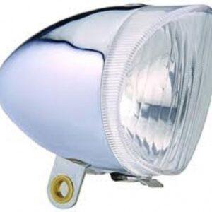 Anlun koplamp dynamo buitenaansluiting zilver