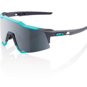 Bril 100% Speedcraft LL Soft Tact - Turquoise/Grijs/Zwart