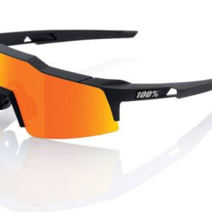 Bril 100% Speedcraft SL Soft Tact - Zwart/Oranje