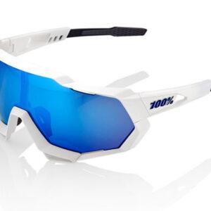 Bril 100% Speedtrap - Wit/Blauw