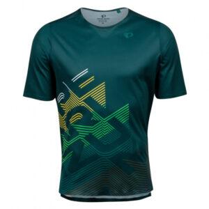 Pearl Izumi fietsshirt Launch heren polyester groen maat M