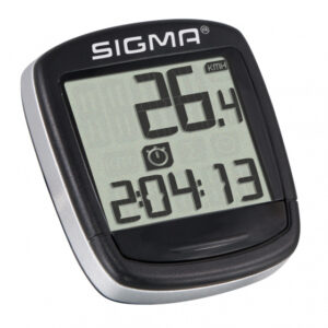Sigma fietscomputer Bc Baseline 500 Wl 30 x 30 mm zwart