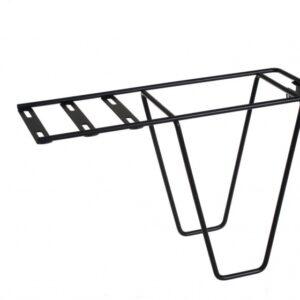 Steco bagagedragerverlenger Tas mee staal zwart
