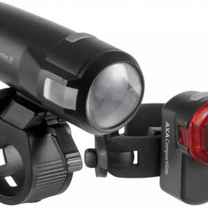 Verlichtingsset Axa Compactline Battery 35