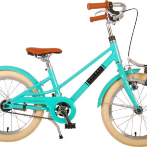Volare Melody 18 Inch 28 cm Meisjes Terugtraprem Turquoise
