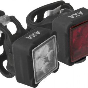Axa - Verlichtingsset Niteline 44 Led Zwart