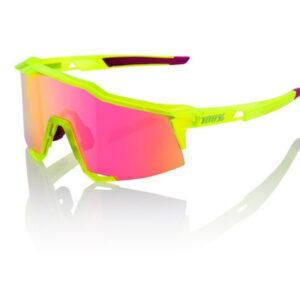 Bril 100% Speedcraft SL - Neon Geel/Roze
