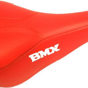 Grand Star zadel BMX Freestyle GS 605 26 x 15 cm rood