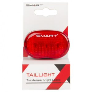 Smart Achterlicht batterij 3 rode leds