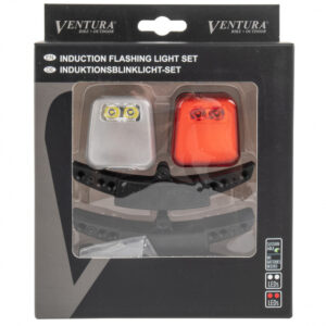Ventura verlichtingsset inductie led wit/rood 4 delig