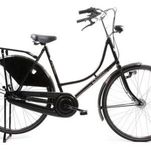 Avalon - Classic De Luxe-s1 28 Inch 57 Cm Dames 3v Trommelrem Zwart