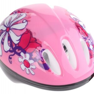 Bike Fun kinderhelm meisjes roze maat 50/54 cm