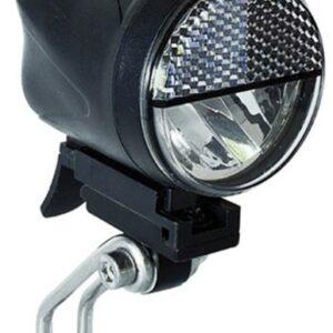 Büchel koplamp Sport accu led 15/40 lux zwart