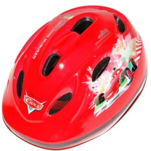 Disney Cars fietshelm jongens rood maat 51/55 cm
