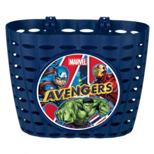 Disney fietsmand Avengers junior 20 cm blauw