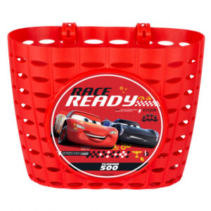 Disney fietsmand Cars junior 20 cm rood
