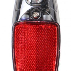 Falkx achterlicht led batterijen rood