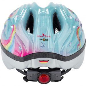 KED fietshelm Meggy Eenhoorn meisjes lichtblauw maat 52 58 cm