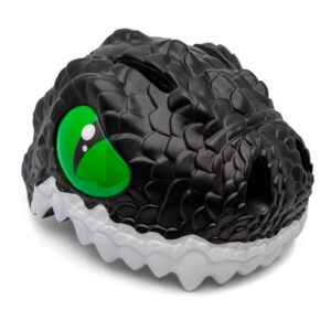 Kinderhelm / Fietshelm Zwarte Draak / Black Dragon Small 49-55 cm