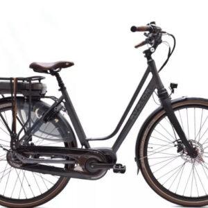 Kohlman Deluxe 28 Inch 48 cm Dames 8V Hydraulische schijfrem Antraciet - Elektrische fiets