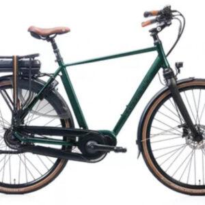 Kohlman Deluxe 28 Inch 54 cm Heren 8V Hydraulische schijfrem Groen - Elektrische fiets