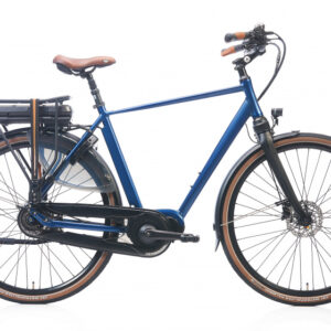 Kohlman Deluxe 28 Inch 57 cm Heren 8V Hydraulische schijfrem Blauw - Elektrische fiets