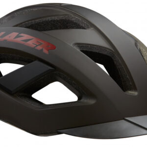 Lazer fietshelm Cameleon unisex zwart/rood maat 55 59 cm