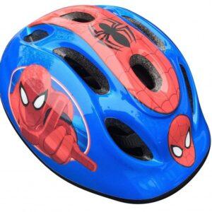Marvel kinderhelm Spider Man blauw/rood maat 50/56