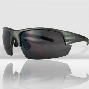 Mirage Mirage Sportbril / Fietsbril met 3 paar lenzen - Grijs / Zwart