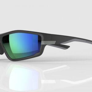 Mirage Sportbril / Fietsbril met 3 paar lenzen -Zwart / Grijs