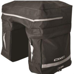 OXC dubbele fietstas C35 Triple 35 liter zwart