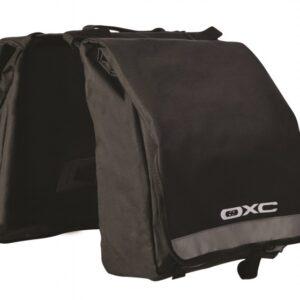 Oxc - Dubbele Fietstas C20 20 Liter Zwart