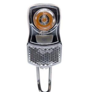 Simson koplamp Clearly led batterij zwart
