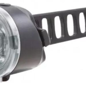 Spanninga - Voorlicht Dot Xb Led Batterij Zwart/transparant