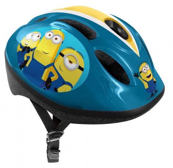 Universal helm Minions 2 junior EPS/ABS blauw mt XS/S