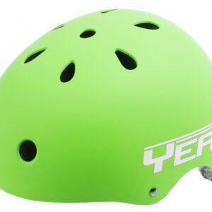 Ventura Freestyle BMX Helm Mat Groen Maat L (58 61 cm)