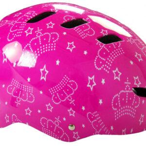 Volare helm meisjes polycarbonaat roze mt 55 57 cm