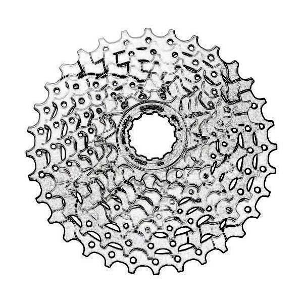 Herstelling fiets cassette