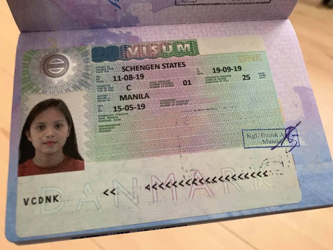 Schengen Visa Application To Denmark