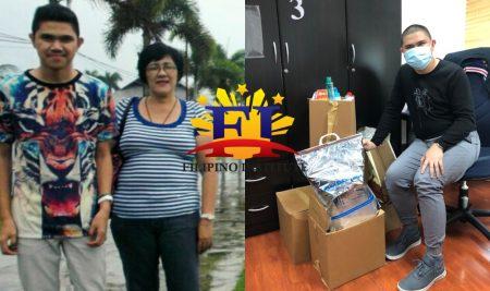 Filipino Institute's employee of the month dedicates achievement to mom