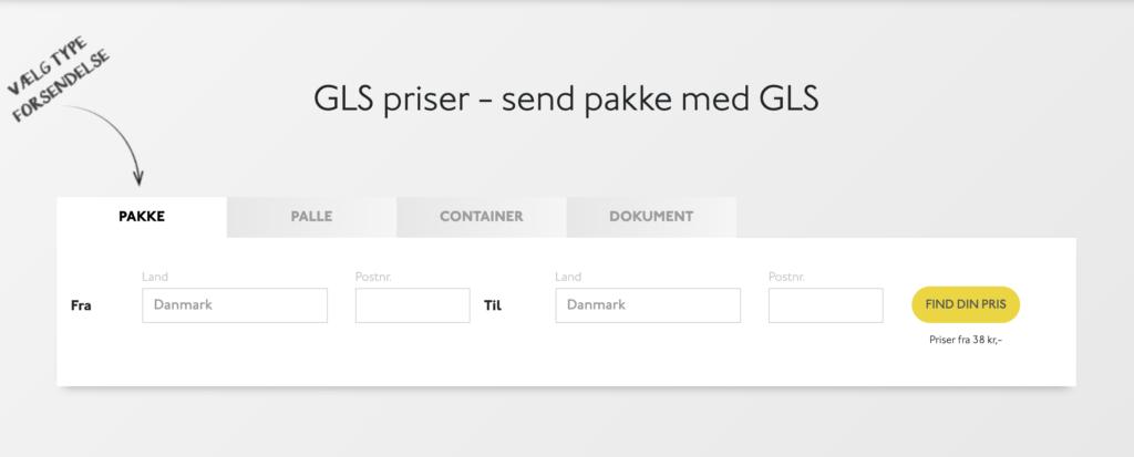 GLS pakkeshop Esbjerg