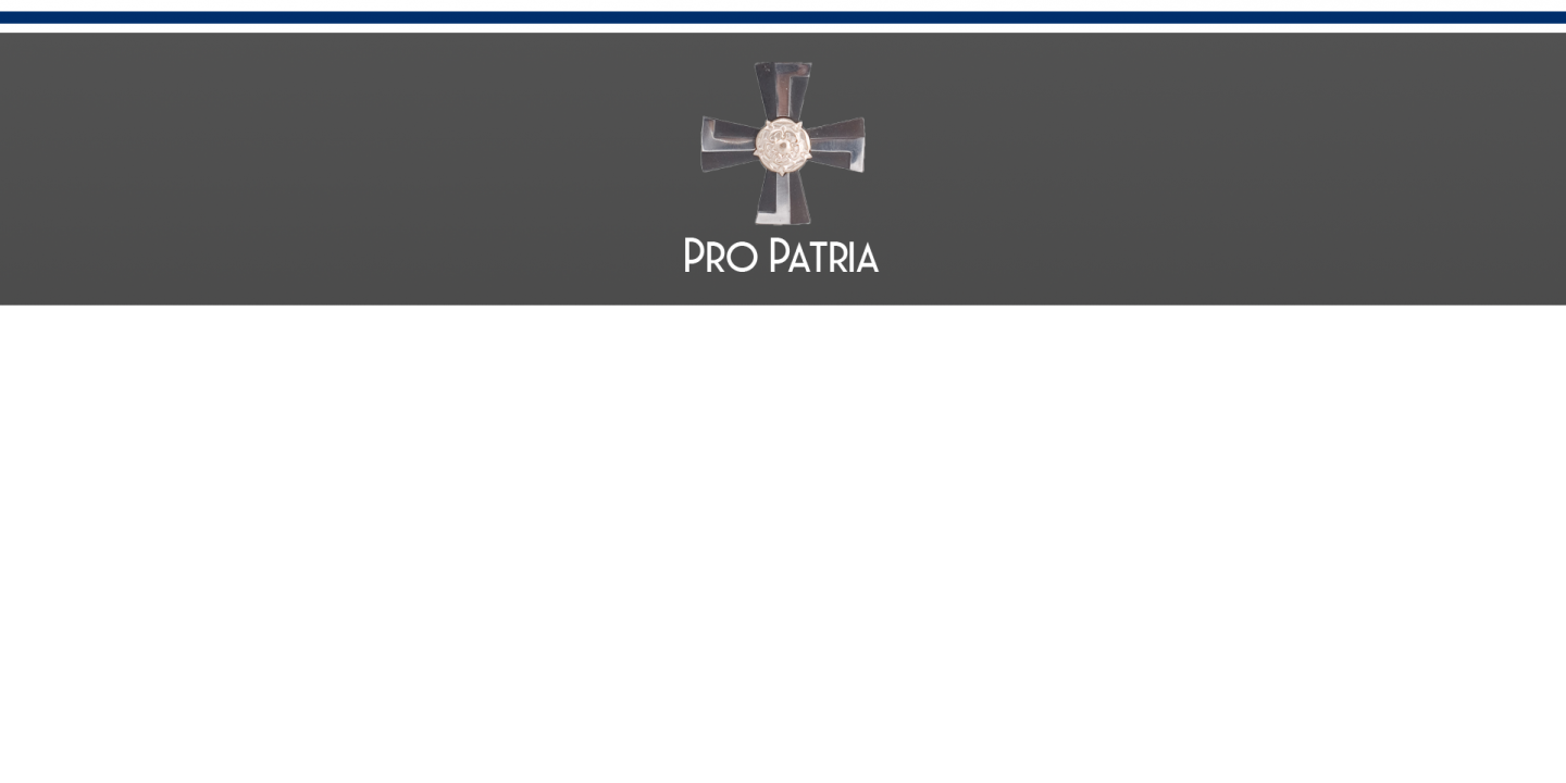 Pro Patria Sururisti Cross of Mourning