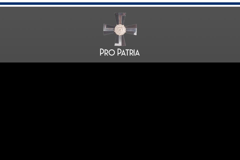 Pro Patria Sururisti Cross of Mourning