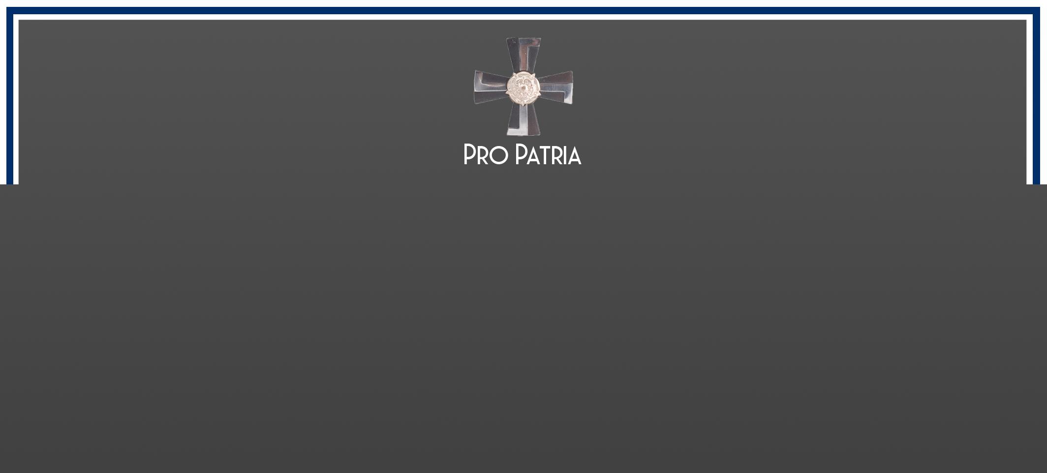 Pro Patria – Mikko Kuitunen