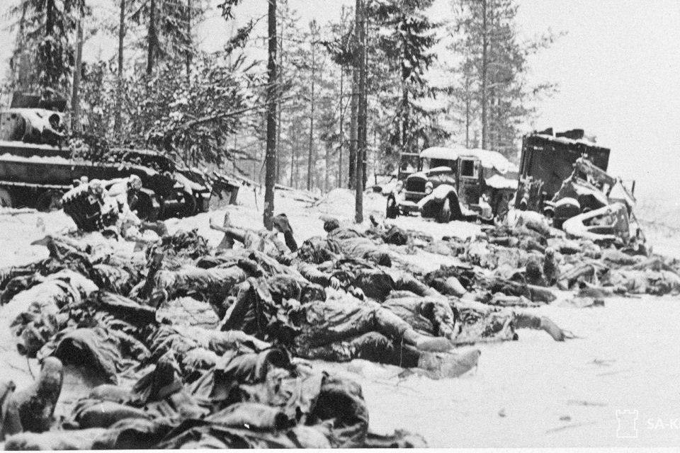 Fallen Soviet Soldiers at Lemetti Motti