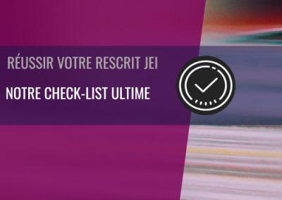 Notre check-list pour anticiper la préparation de votre rescrit JEI !