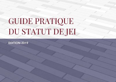 Guide pratique du statut de JEI