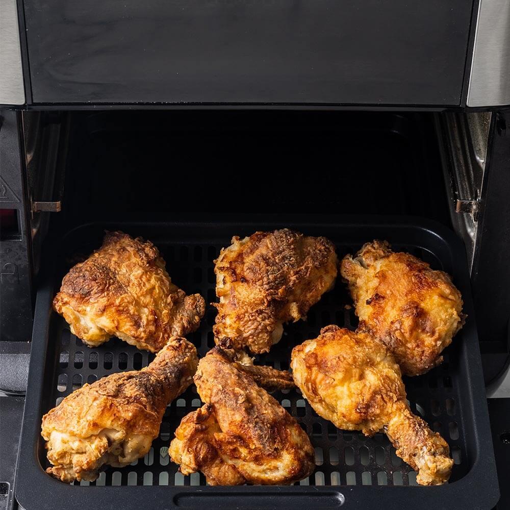 luftfritert kylling